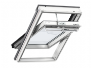 VELUX WHITE PAINTED Solar Centre-Pivot Roof Window GGL